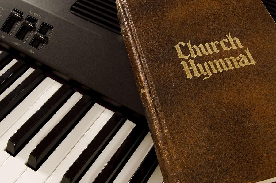 Hymnal And Keyboard